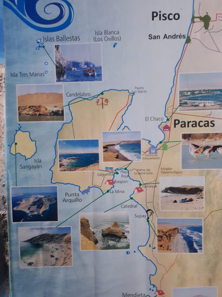 Plan réserve Paracas