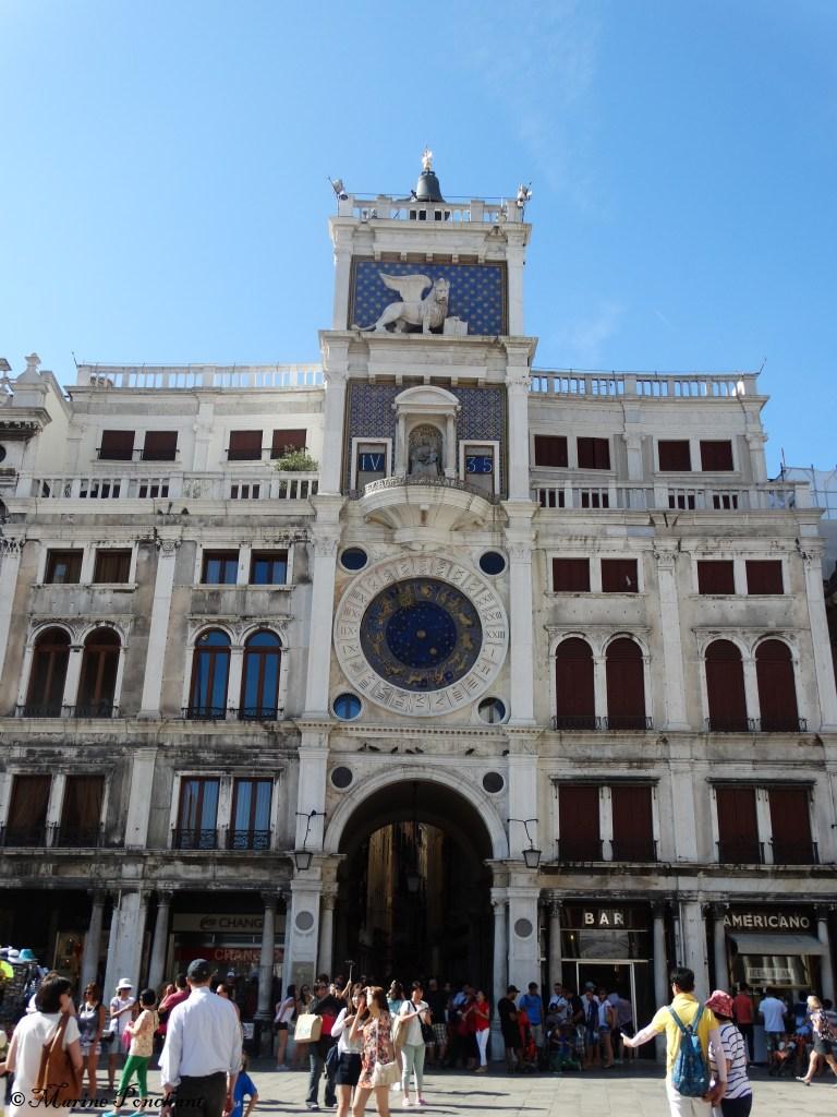 Tour de l'horloge de Venise