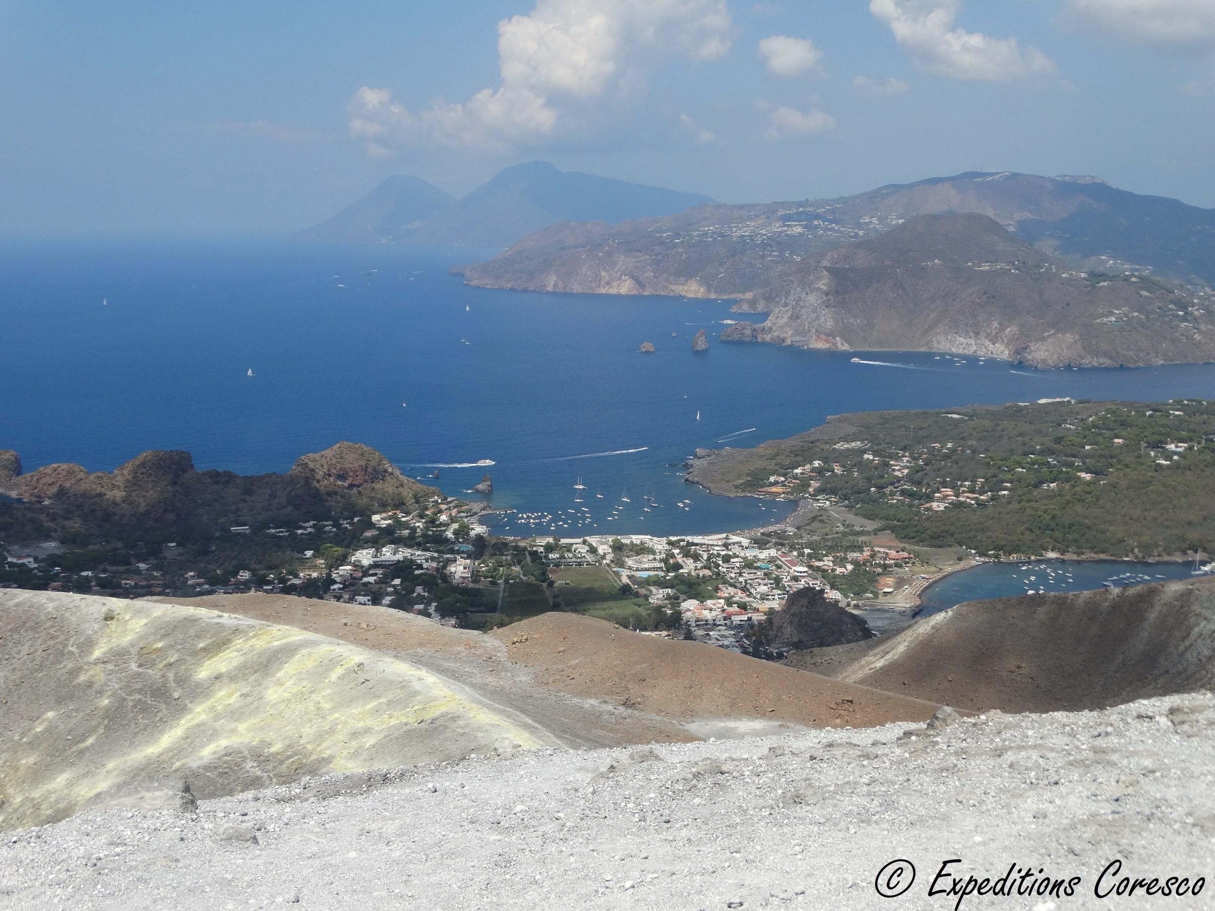 Panorama depuis le Vulcano