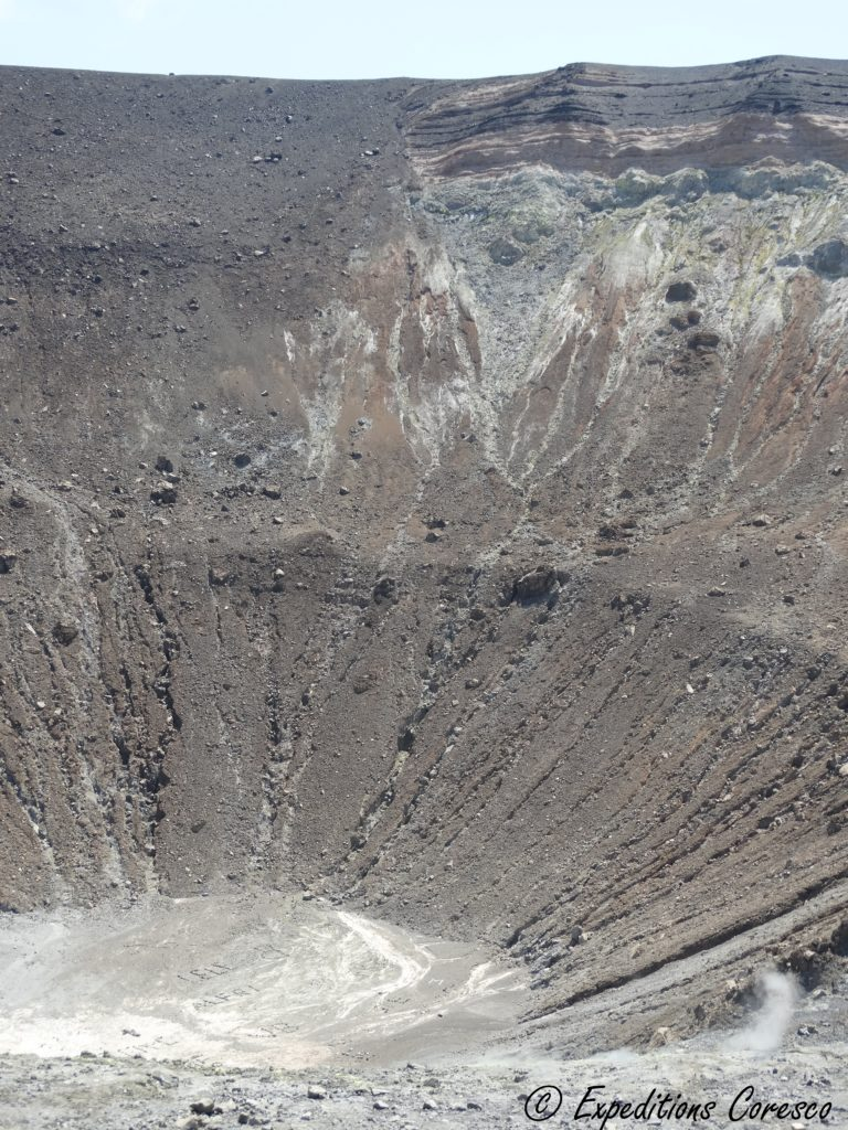 Fond du cratère Vulcano
