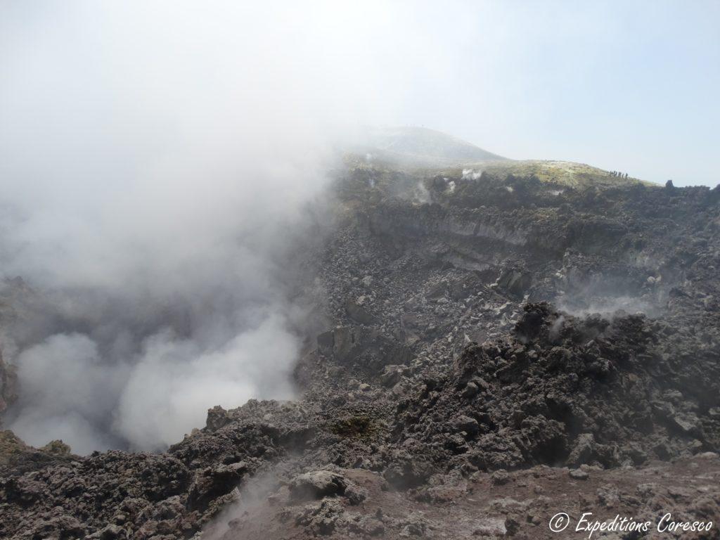 l'Etna et son cratère principal