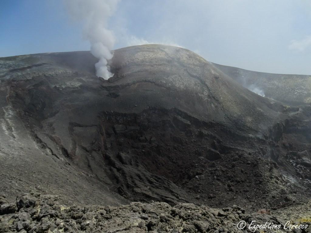 Cratère et bouche principale Etna