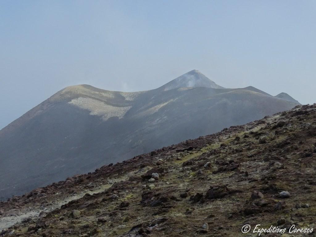 Forme amusante sur l'Etna