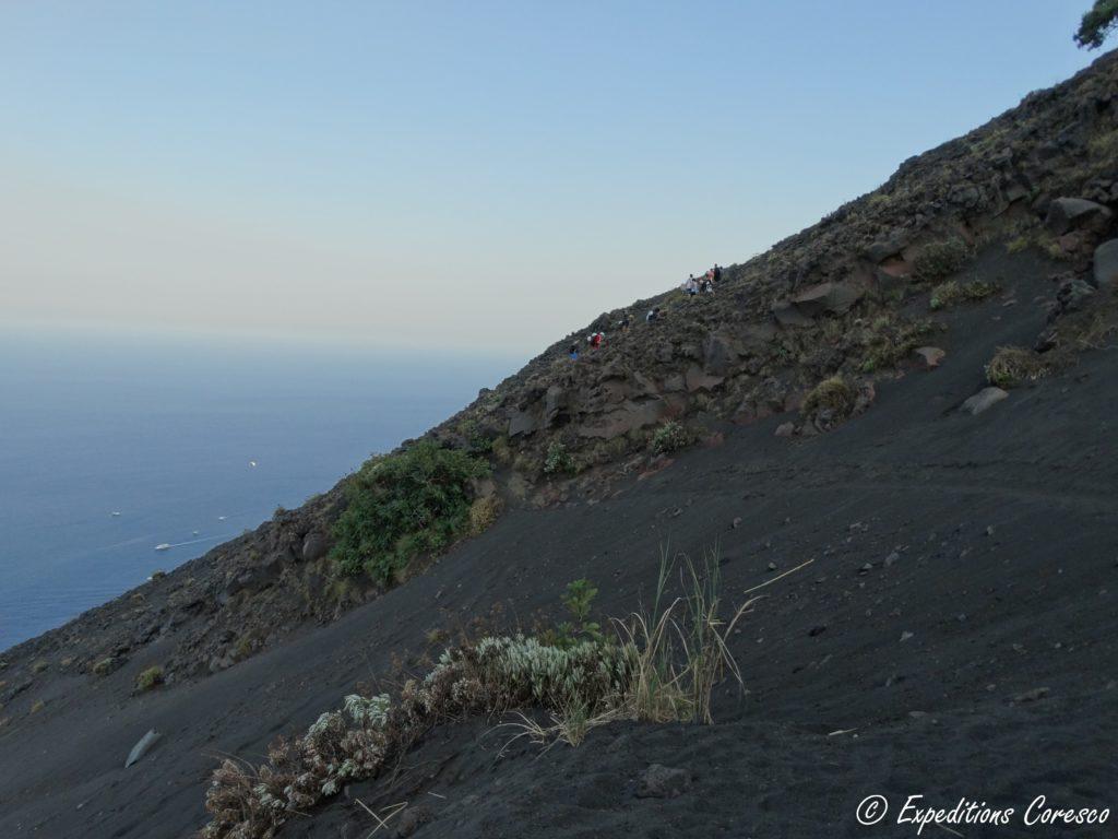 Trek du volcan Stromboli