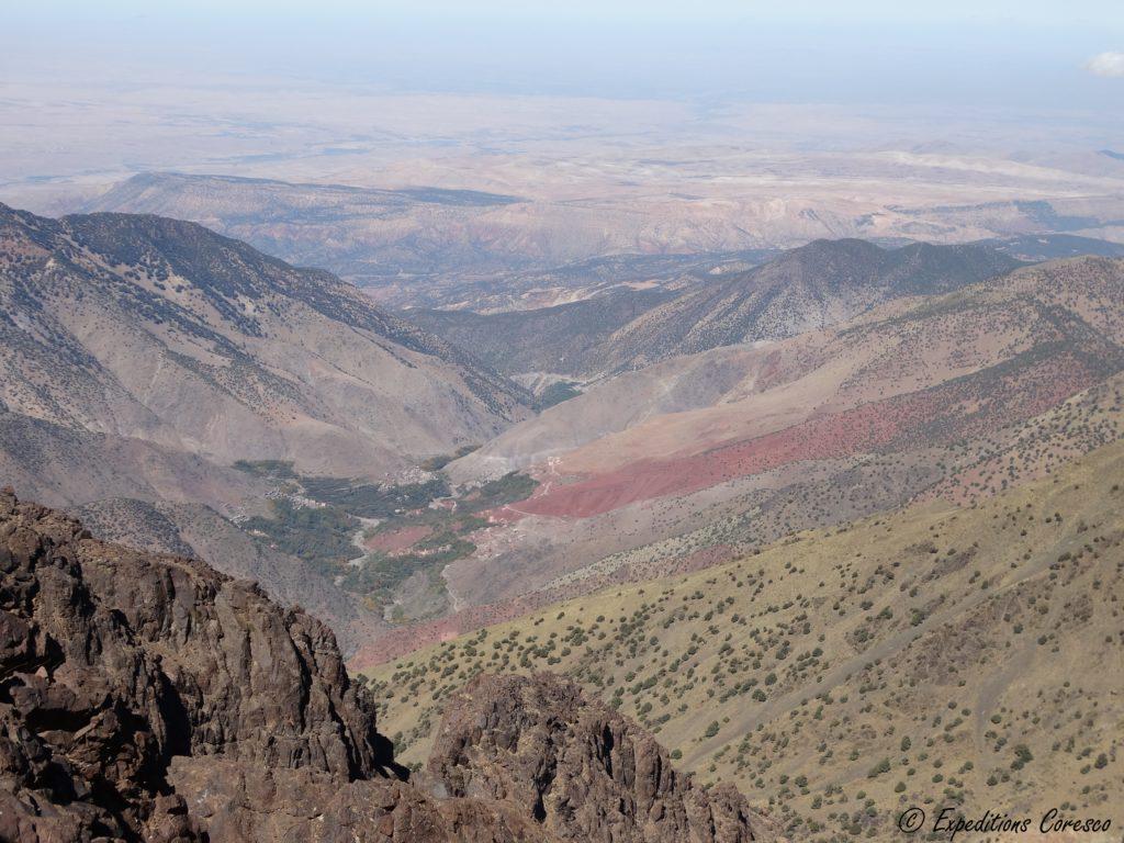 Panorama haut atlas marocain