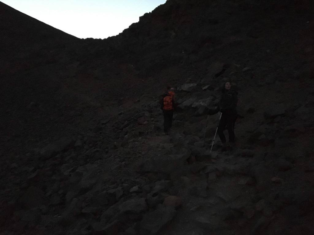 ascension du toubkal à la frontale