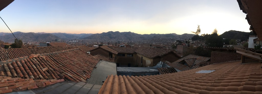 Vue sur la ville de Cusco