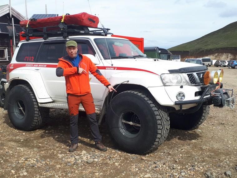 Secourisme de montagnes, Islande