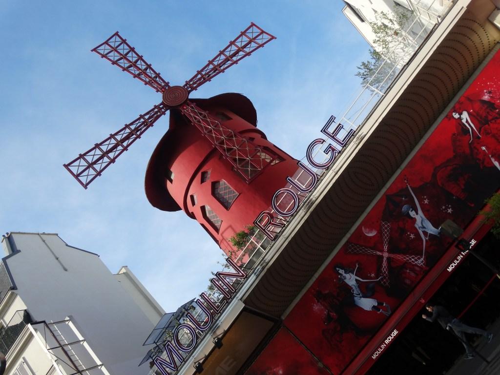 Le cabaret du Moulin Rouge