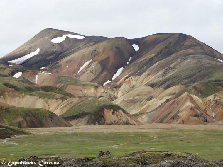 Montagnes au départ du Laugavegur