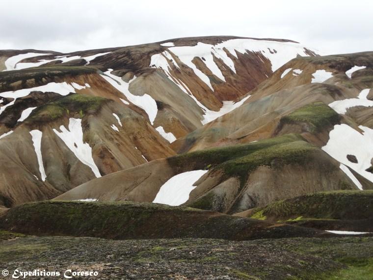 1ères neiges sur le Laugavegur