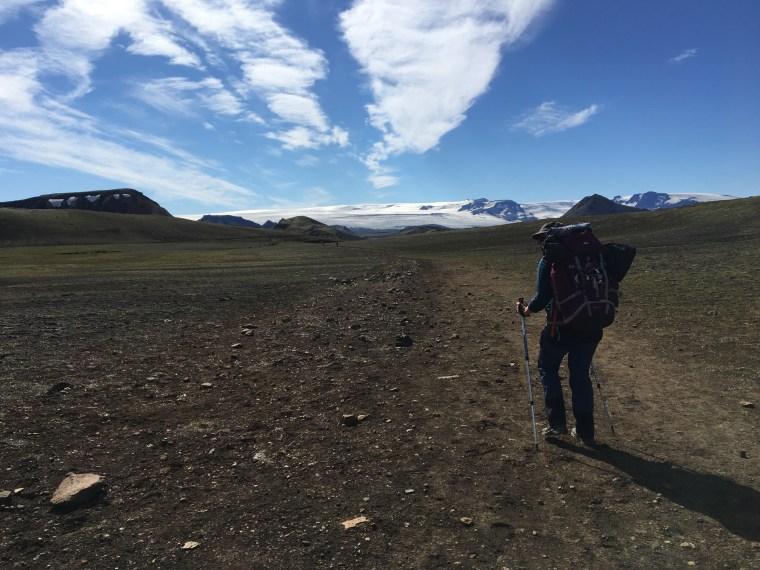 3ème jour interminable sur le célèbre trek Islandais