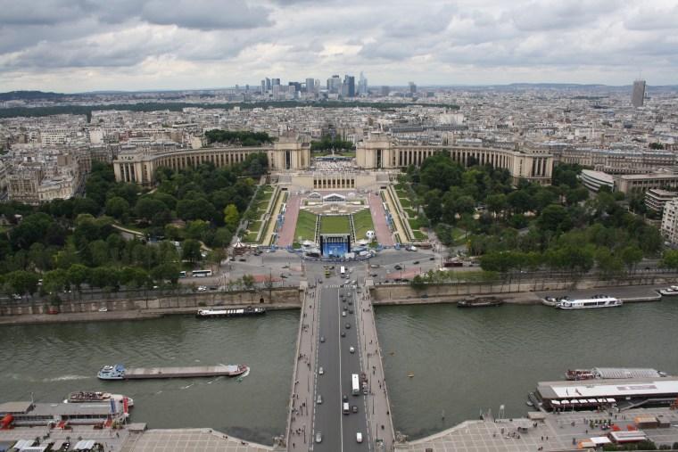 La Seine et le Trocadero