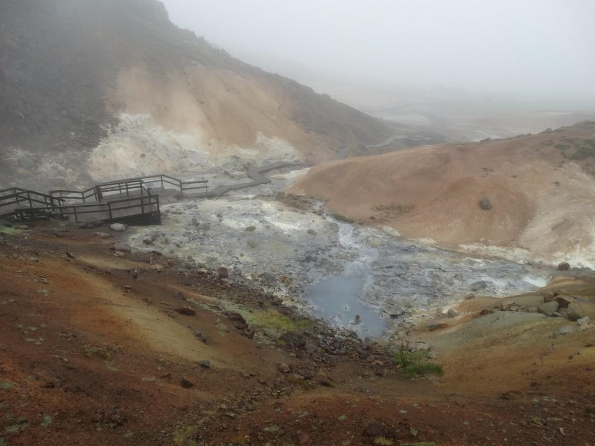 Terres volcaniques de Seltun