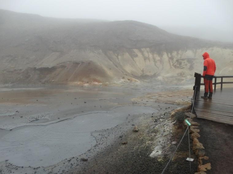 Boues bouillantes Seltun, Islande