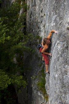 Tomasovsky viewpoint rock climbing