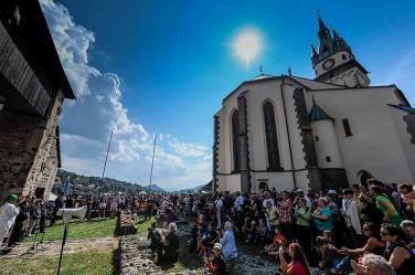 Gags under Kremnica castle