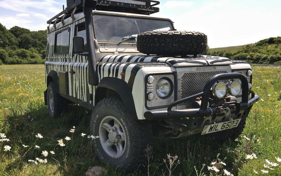 Land Rover 110 Td5 – Extensively Prepped – UK