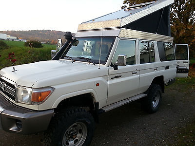 Toyota Land Cruiser 76 Pop Top Roof Germany 49 000