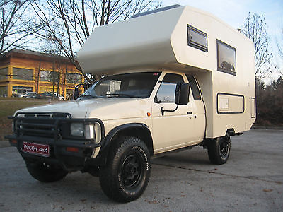 Nissan Pickup With Full Coachbuilt Camper Conversion