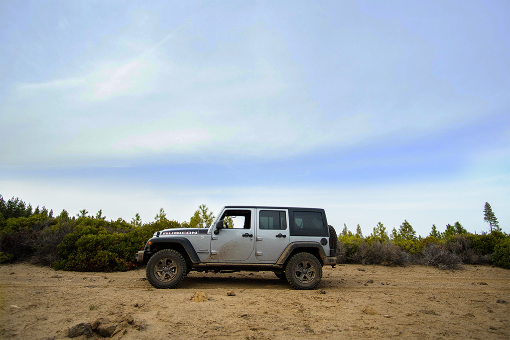 Overlanding in a Jeep Wrangler