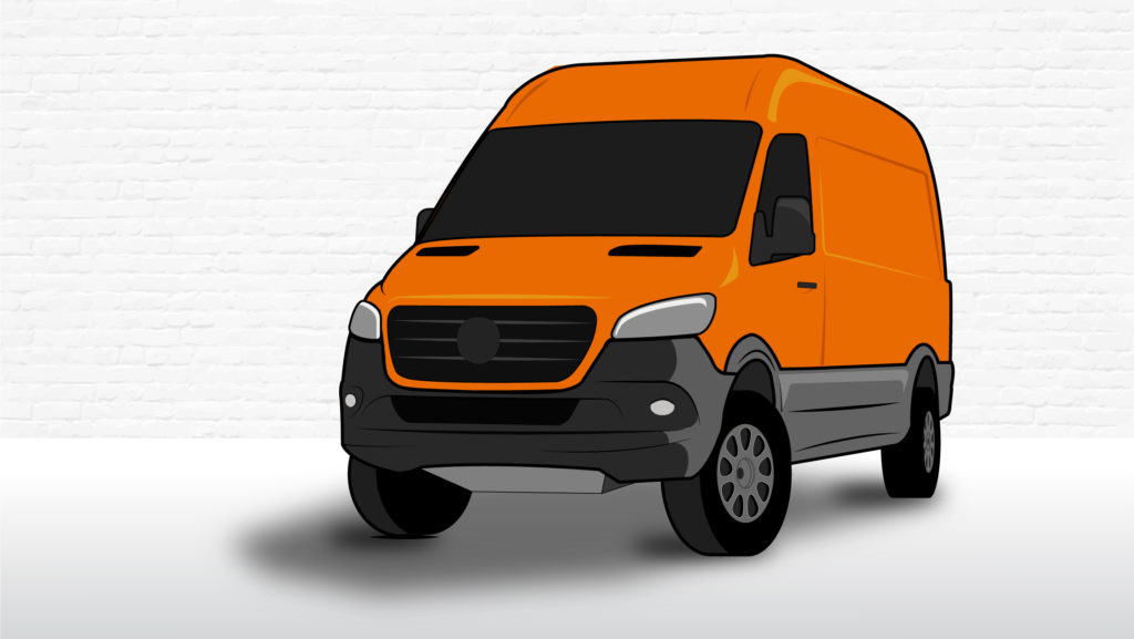 2019 Sprinter 4x4 Illustration for four wheel drive van guide