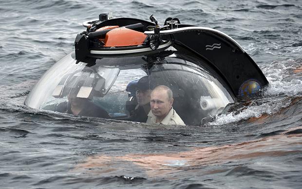 Putin submersible