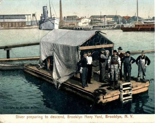 Diver Brooklyn Navy Yard