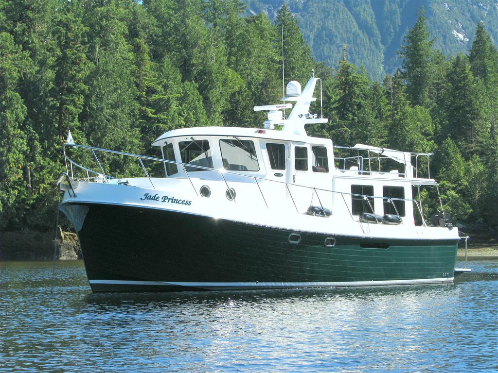 Sold Boat 2008 American Tug 41 Jade Princess Expedition Yacht Sales LLC