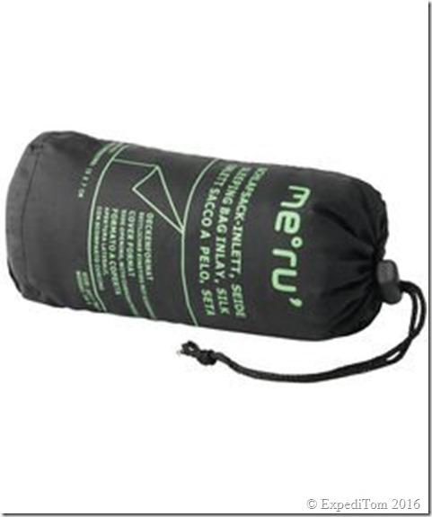 Meru Inlay Sleeping Bag Silk – Review