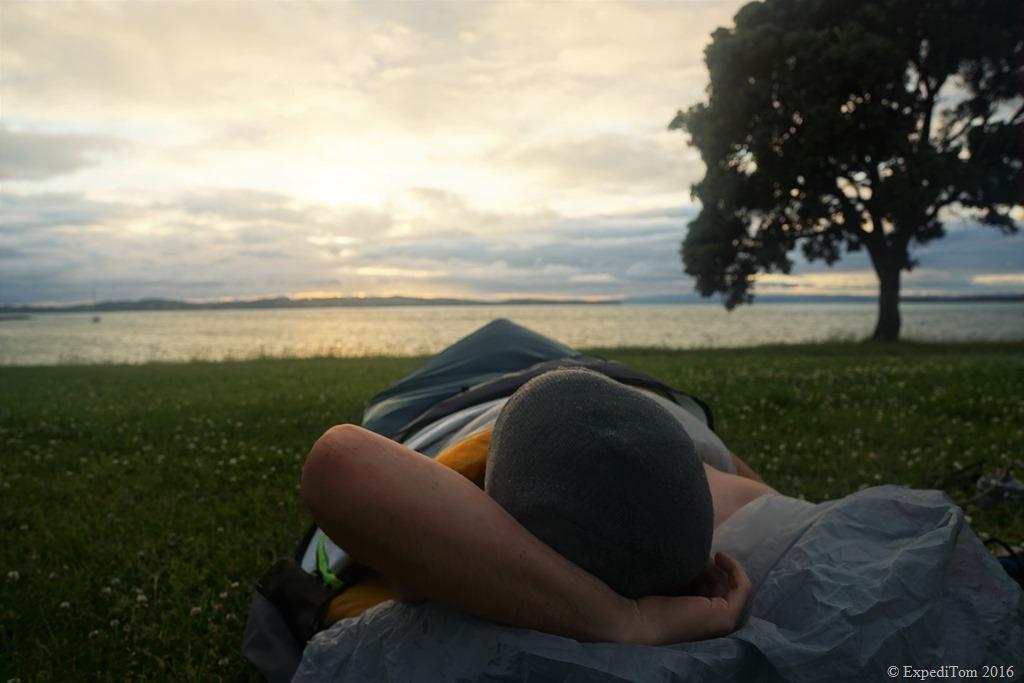 Liberating feeling in the Sea to Summit Spark II sleeping bag