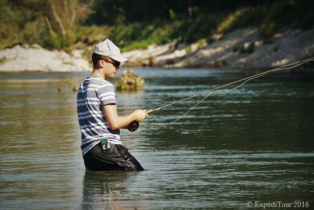 Guided fly fishing tour with Jan1