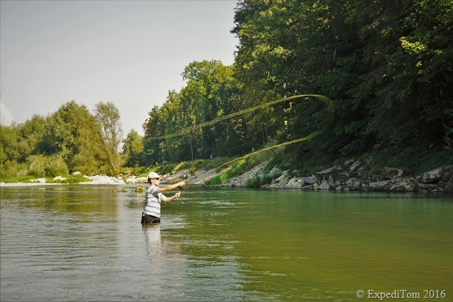 Guided fly fishing tour with Jan2