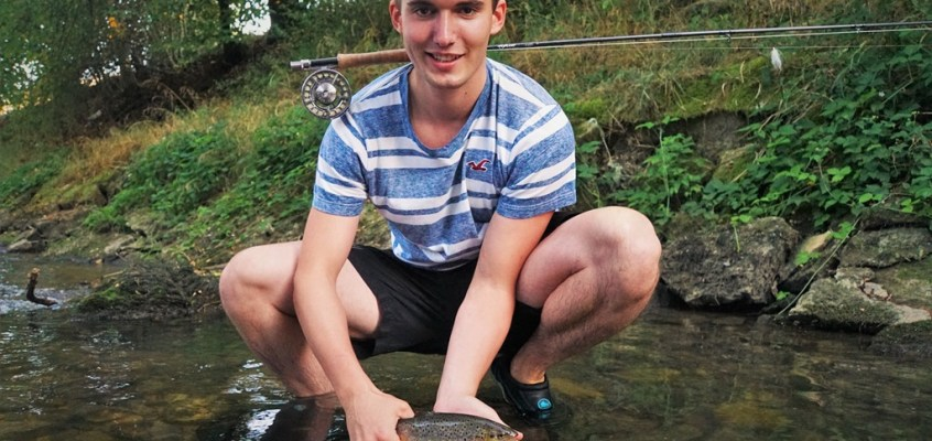 Guided fly fishing trip with Jan – or how fly fishing beat spin fishing