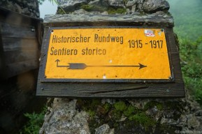 Historical hiking path