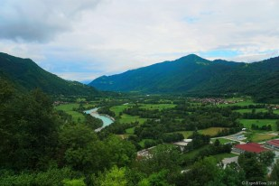 View on the Soca Valley
