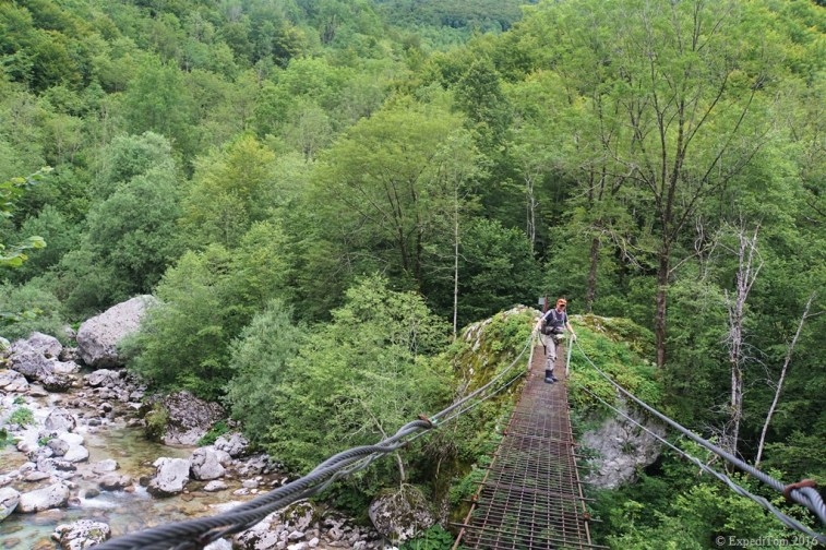 Swing bridge to fly fishing heaven