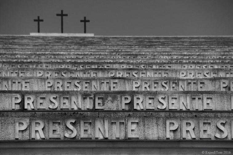 Fascist memorial of Redipuglia First World War