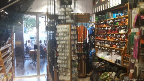 Fishing Shop in Bozen