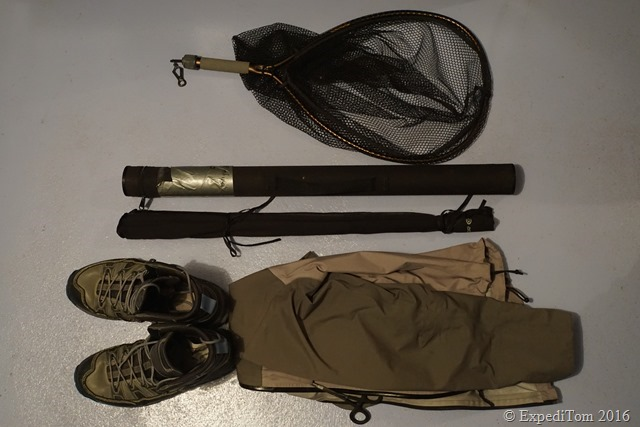 Packing List for a Two Days Fly Fishing Trip Fishing gear for a two days trip