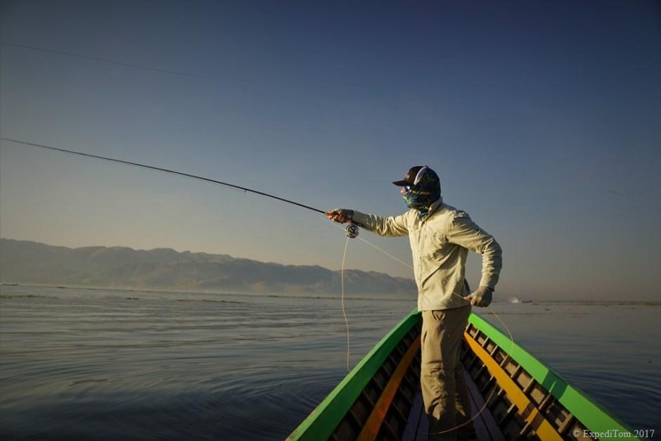 Fly Fishing at Inle Lake Myanmar (7)