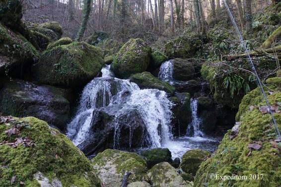 Bubbly cascade