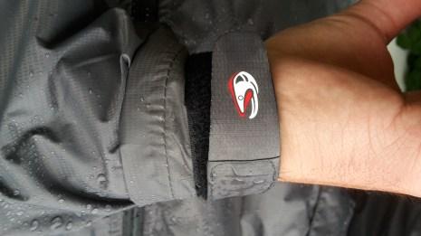Cuffs of the Taimen Shilka wading jacket