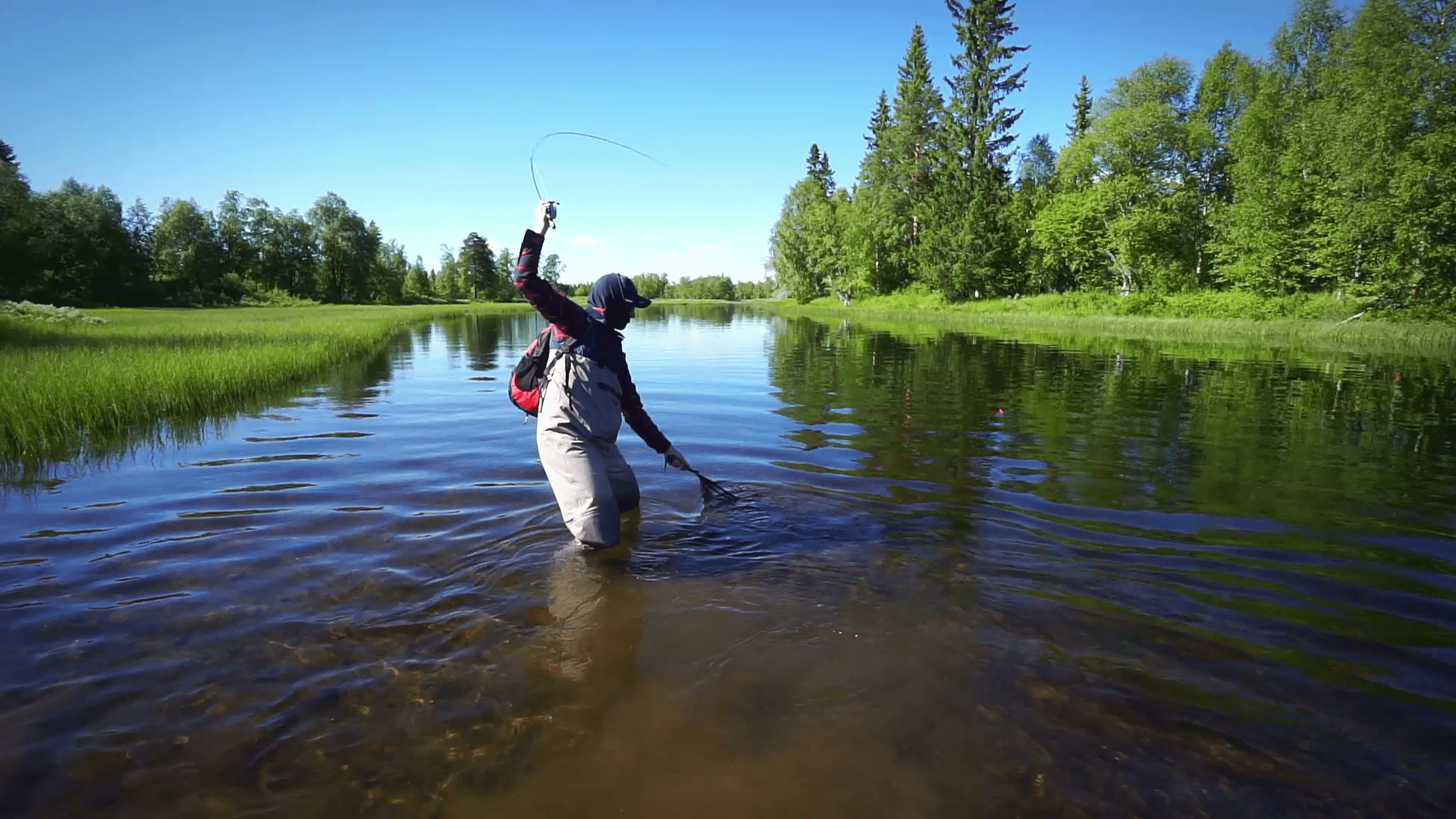 Fly Fishing Jämtland, Sweden