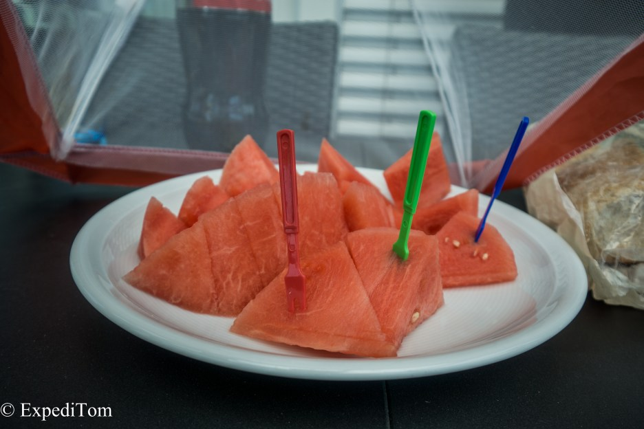 Refreshing water melons