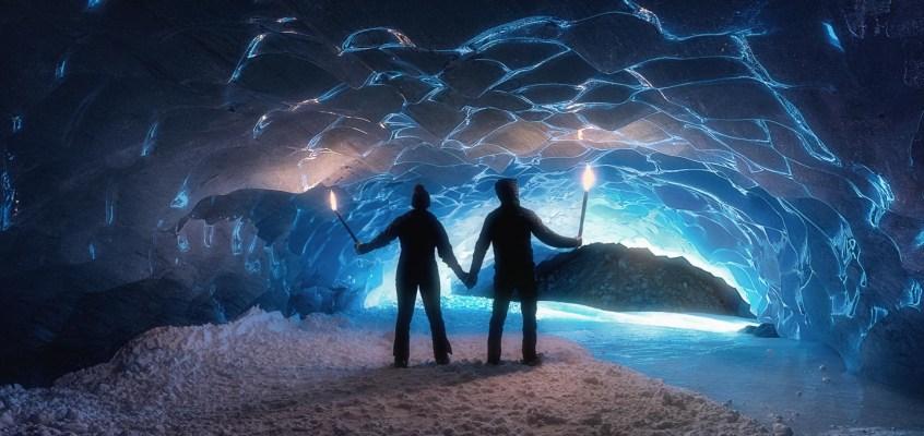 Exploring Ice Caves in Switzerland
