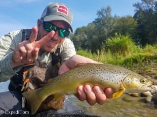 André's second trout