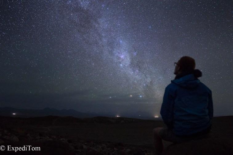 Stunning sight: The Milkyway in the Atacama Desert in Chile