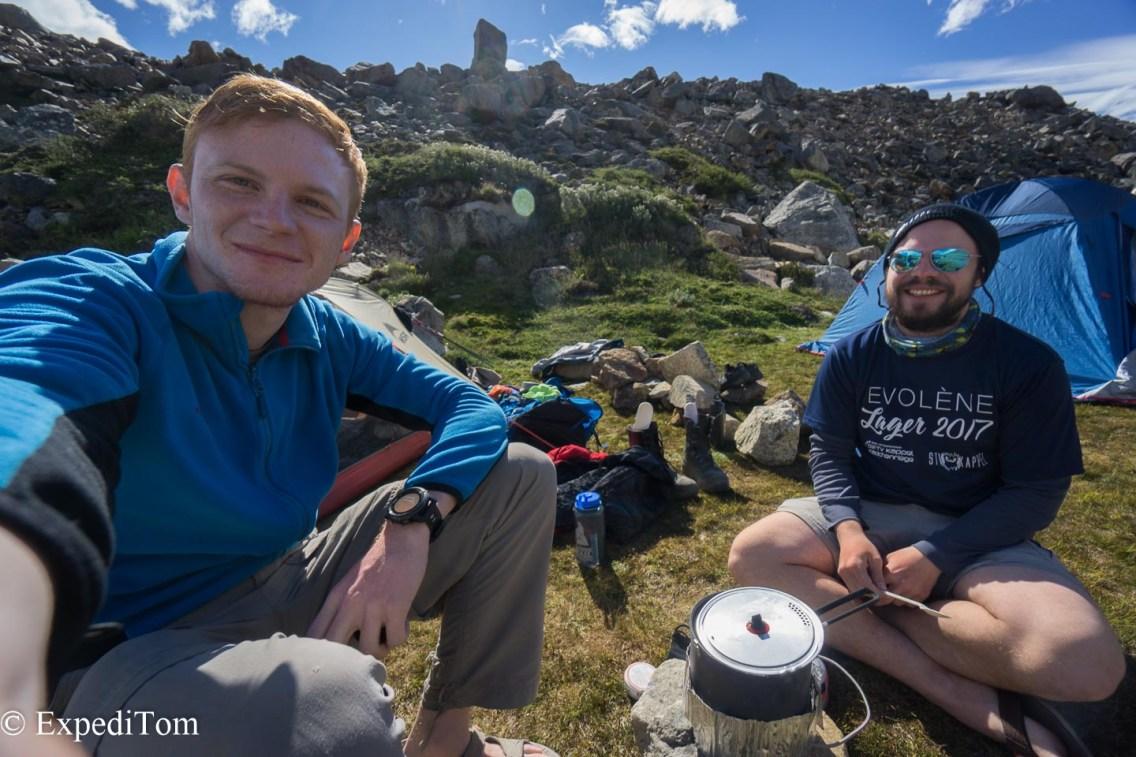 Food 2 Huemul Trek 2018 Camping Trekking Hiking