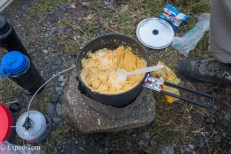 How to not cook Polenta Huemul Trek 2018